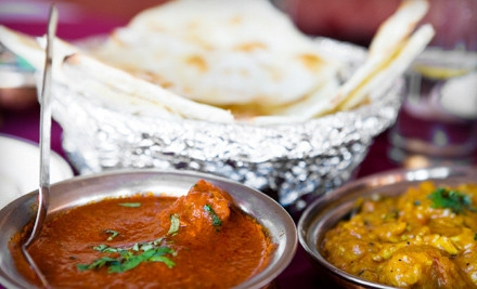 Indian Dinner for Two - Royal Bengal in Warren