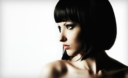 Haircut, Style, and Gloss Treatment (a $70 value) - Namaste Aveda Pure Design Salon in Denver