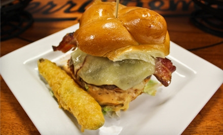 $35 Groupon for Seasonal American Fare  - Jerry Remy's Sports Bar & Grill at Fenway in Boston