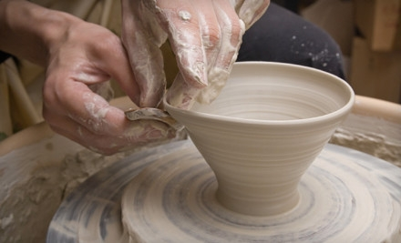 Private Pottery Class for 1 (a $70 value)  - Zen and Now Clay Studio in Tucker
