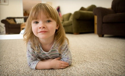 3 Rooms of Carpet Cleaning (a $144 value) - Twelve Bridges Carpet and Tile Care in