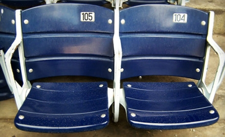1 Authentic Texas Stadium Seat (a $200 value) - The Cowboy House in Lake Dallas