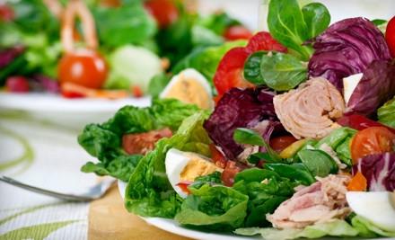 $10 Worth of Sandwiches, Salads, and Frozen Yogurt until 4 p.m. - Fresh Dash in Miami