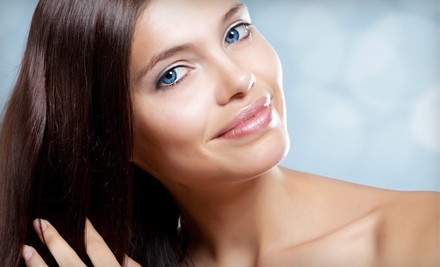 Hair Package Including Haircut (up to a $60 value) and Deep-Conditioning Treatment (a $30 value) - Visage Salon & Spa in Oradell