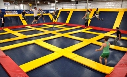 2 Hours of Jump Time on Monday - Thursday (a $17 value) - Sky High Sports Charlotte in Pineville