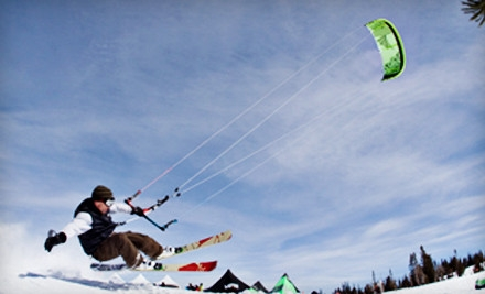 Three-Hour Introductory Snowkiting Lesson in Park City (a $175 value) - Best Snowkite Center in