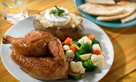 $14 Groupon - Chicken Dijon Rotisserie & Grill in