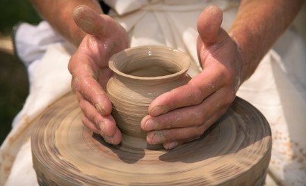 1-Hour Basic Pottery Wheel Class for 2, Including Glazing and Firing (a $70 value) - Desert Dragon Pottery in Phoenix