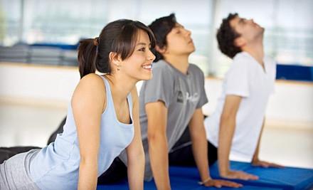 Choice of 5 Yoga or Pilates Classes (a $75 value) - Simon Says Yoga in Bethesda