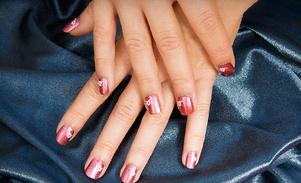 1 Deluxe Manicure (a $25 value) - Beautiful Nails in Charlotte