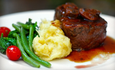$50 Groupon for Dinner for 2 Valid Monday-Thursday - Amadeus Italian Restaurant and Piano Bar in Kemah