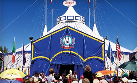 Zoppe Circus at the Chandler Center for the Arts on Thu., Dec. 29 at 7PM: General-Admission - Zoppe Circus in Chandler