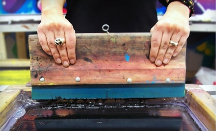 BYOB Screenprinting Class for 1 (an $80 value) - Gowanus Print Lab in Brooklyn