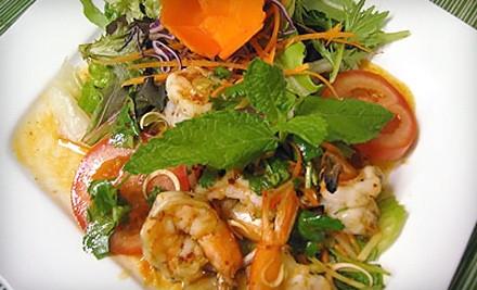 $40 Groupon to Karakade Thai Cuisine - Karakade Thai Cuisine in Redwood City