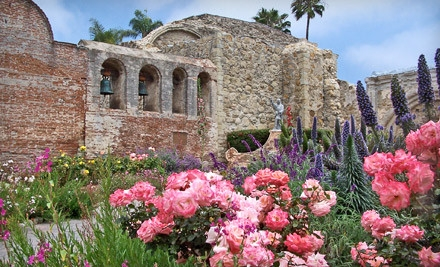2 General-Admission Tickets (an $18 value) - Mission San Juan Capistrano in San Juan Capistrano