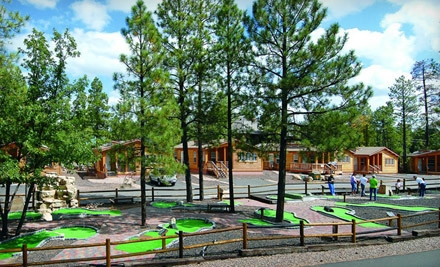 2 Night Stay in a 2-Bedroom Cabin, Valid Sunday-Thursday - PVC at The Roundhouse Resort in Pinetop