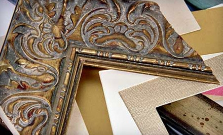 $100 Groupon to Artistic Expert Picture Framing - Artistic Picture Framing in Berkeley