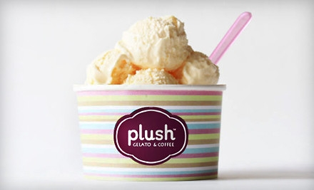 Groupon for $20 Gift Card to Plush Gelato & Coffee - Plush Gelato & Coffee in Vienna