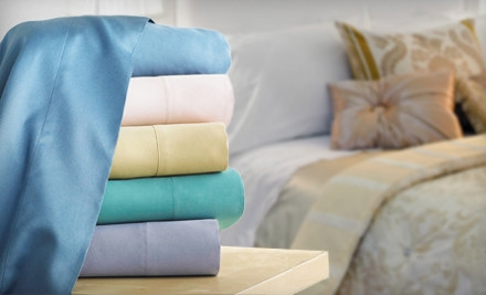 Twin-Size 500 TC Hotel Collection Supima 3-Piece Sheet Set: Vanilla Creme (a $140 value) - Hotel Collection Supima Cotton 500TC Sheet Set in