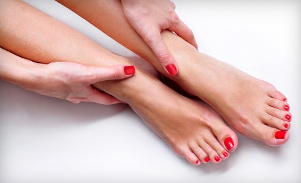 Manicure and Spa Pedicure (up to a $40 value) - Savvy Nails & Spa in Seattle