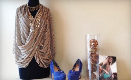 $50 Groupon for Designer Apparel and Accessories - Hemline in Houston