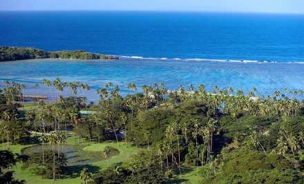 5-Night All-Inclusive Stay for Two in an Ocean-View Two-Bedroom Bure or Raintree Two-Bedroom Bure - Koro Sun Resort in