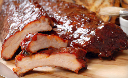 $30 Groupon Valid Sunday-Thursday - Hickory House Ribs in Parker