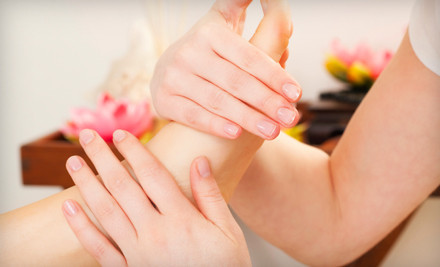 One 30-Minute Acupressure Treatment and a One 30-Minute Reflexology Treatment (a $95 value) - Washington Institute of Natural Medicine in Washington