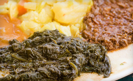 $30 Groupon  - Fasika Ethiopian Restaurant in Somerville
