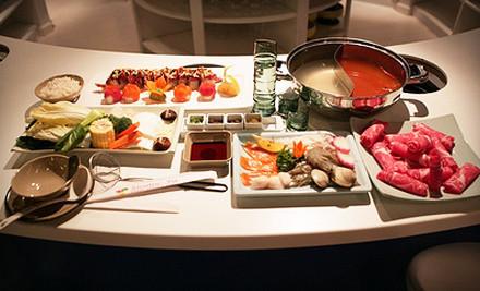 Meal for 2 Including 1 Maki Roll and Choice of 2 Specials or 2 Shabu Shabu - Shabu-Ya Restaurant in Cambridge