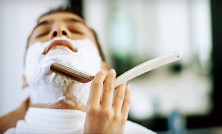 1 Men's Grooming Package (a $50 value) - Alfani's Barbershop in Denver