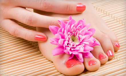 60-Minute Nail-Care Package (a $40 total value) - Sol Oasis in Atlanta