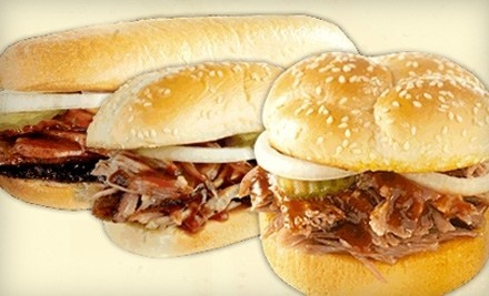 $15 Groupon to Dickey's Barbecue Pit  - Dickey's Barbecue Pit  in Overland Park