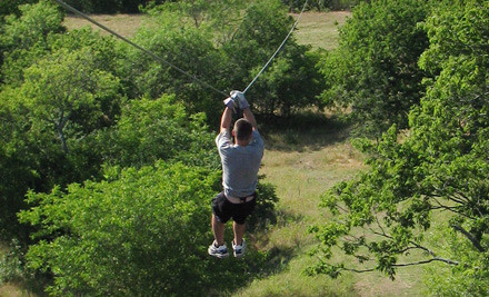 Zip Line Tour for One (a $60 value) - Beaumont Ranch in Grandview
