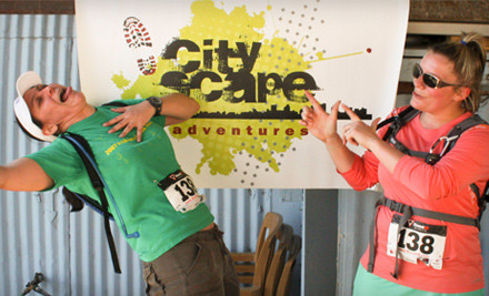 Las Vegas Adventure-Race Entry for Two People  (a $108 value) - CityScape Adventure in Las Vegas
