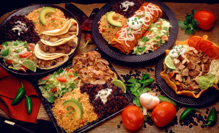 2 Combo Platters and 2 Texas Margaritas - El Porton in Roswell