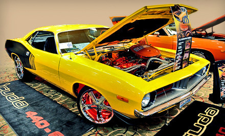 Four Tickets to Custom Rides Car Show & Expo on Sat., Jan. 21 and Sun., Jan. 22. - Custom Rides Car Show & Expo in Tinley Park