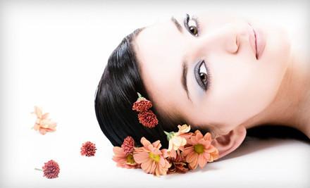 Choice of One 50-Minute Massage, Essential Facial, or Classic Manicure and Spa Pedicure - Roni Josef International Salon & Spa in Las Vegas