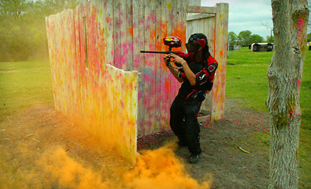 Paintball Package for Two (a $101 value) - Official Paintball Games of Texas in Forney