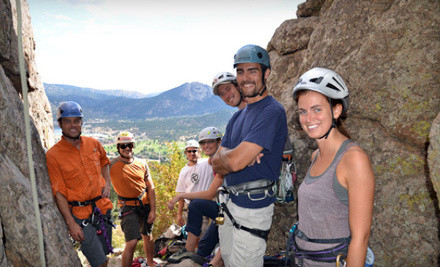 Half Day of Guided Rock Climbing with Rental Gear Provided (a $165 value) - Rocky Top Guides in Lookout Mountain