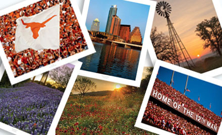 3 Texas-Scenery Print Packages (a $59.85 value) - Deep In The Art of Texas in
