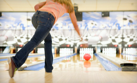 1 Hour of Bowling for Six People (up to a $48.50 total value) - Suburban Lanes in Decatur