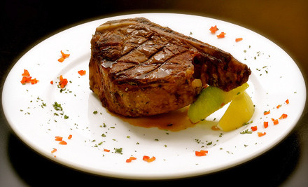 $40 Groupon for Upscale American Fare (SundayThursday) - Seven The Steakhouse in Minneapolis