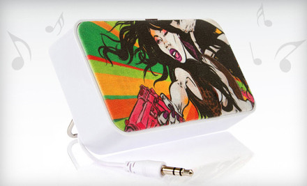 One Customizable Doodle Portable Speaker (a $40 value) - OrigAudio in