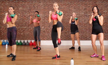 5 Drop-In Kettlebell Kickboxing Classes (a $100 value) - Anderson's Martial Arts Academy in Manhattan