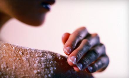Body Scrub with Sugar and Essential Oils (a $125 value) - Salud! in Bronx