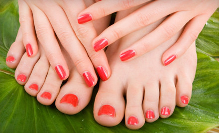 Basic Mani-Pedi (a $42 value) - Victoria's Nails & Spa in Marlton
