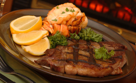 $50 Groupon - New York Steak & Seafood in