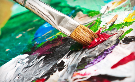 One Adult Painting Class (a $25 value) - You Are The Artist in