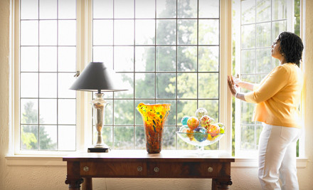 2 Hours of Interior and Exterior Window Cleaning (a $225 value) - Sampaio Services Company in